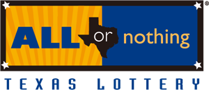 All or Nothing by Texas Lottery Logo Vector