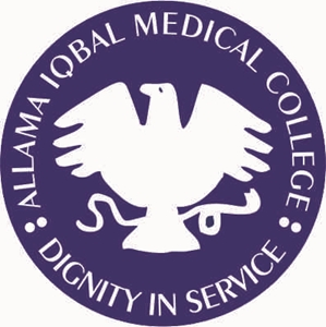 Allama Iqbal Medical College Lahore Logo Vector