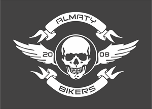 almaty bikers Logo Vector