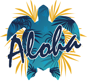Aloha Beautiful Artwork Logo Vector