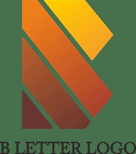 Alphabet B Design Logo Vector ( AI) Free Download