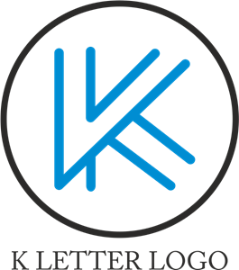 Alphabet K Design Logo Vector