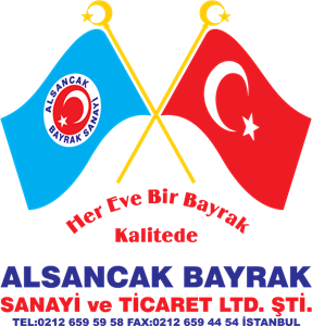 alsancak flags Logo Vector
