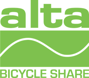 Alta Bicycle Share Logo Vector