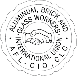 Aluminum, Brick And Glass Workers Int. Union Logo Vector