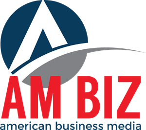 AM BIZ American Business Media Logo Vector