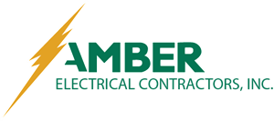 Amber Electrical Logo Vector