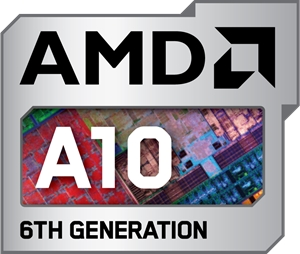 AMD A10 6TH Generation Logo Vector