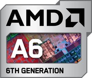 AMD A6 6TH Generation Logo Vector