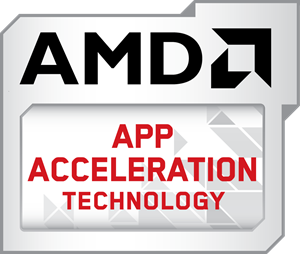 Aiseesoft software with amd app technology to accelerate video.