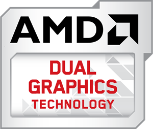 AMD Dual Graphics Technology Logo Vector
