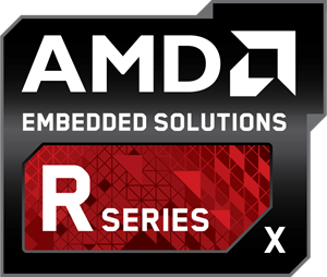 AMD Embedded Solutions R Series X Logo Vector