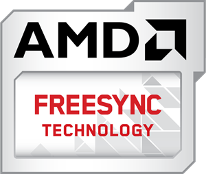 AMD Freesync Technology Logo Vector