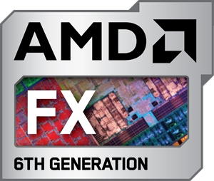 AMD FX 6TH Generation Logo Vector