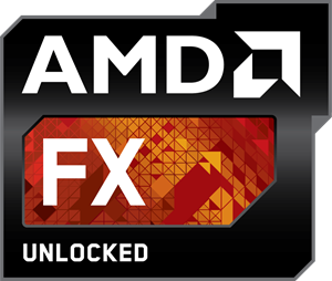 AMD FX Unlocked Logo Vector