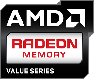 AMD Radeon Memory Value Series Logo Vector