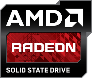 AMD Radeon Solid State Drive Logo Vector