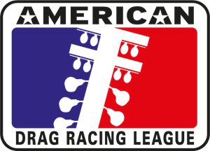 American Drag Racing League Logo Vector