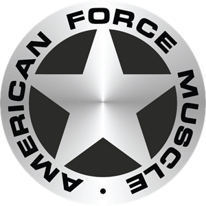 American Force Muscle Logo Vector