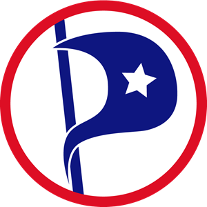 American pirate party Logo Vector
