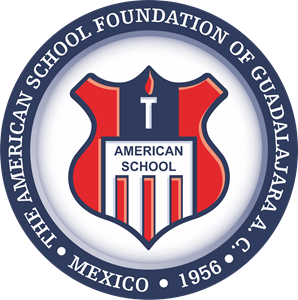 American School of Guadalajara Logo Vector