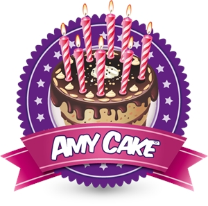 Amy Cake Logo Vector