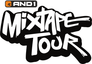 And1 Mix Tape Tour Logo Vector