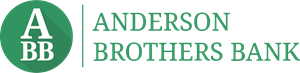 Anderson Brothers Bank Logo Vector