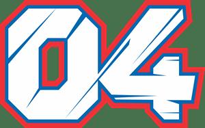 Andrea Dovizioso 04 Logo Vector (.CDR) Free Download
