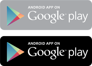 Android app on Google play Logo Vector