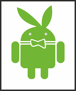Android Playboy Logo Vector