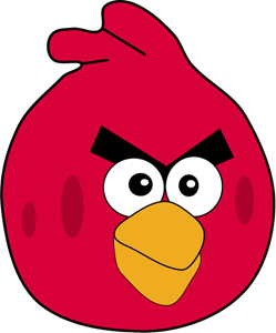 ANGER BIRD Logo Vector