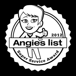 Angies List 2012 White Logo Vector