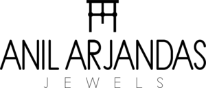 Anil Arjandas Jewels Logo Vector