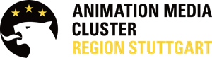 Animation Media Cluster Region Stuttgart Logo Vector