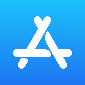 Apple App Store Logo Vector