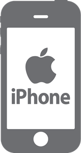 Apple iphone Logo Vector