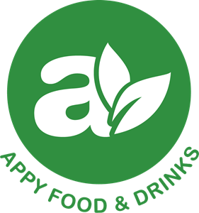 Appy Food and Drinks Logo Vector