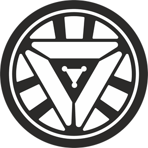 Arc Reactor Logo Vector