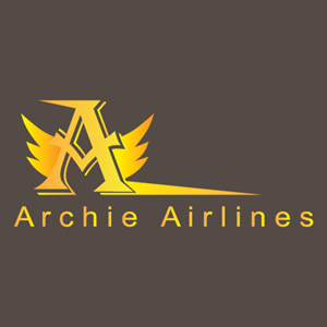Archie Airlines Logo Vector