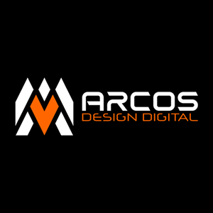 Arcos Design Digital Logo Vector