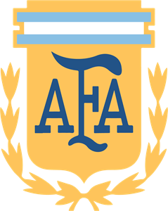 Argentine Football Association (AFA) 2018 Logo Vector