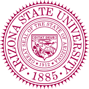 Arizona State University Seal Logo Vector
