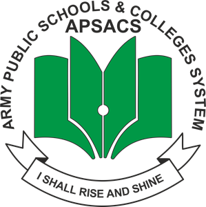 Army Public School Logo Vector