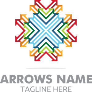 arrows Logo Vector