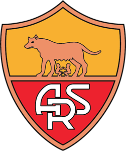 AS Roma (old) Logo Vector