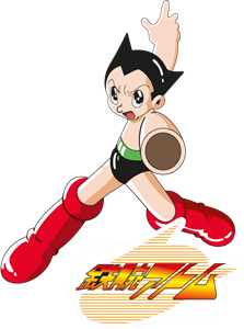 Astro boy anime Logo Vector