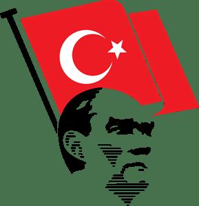 Ataturk Bayrak Logo Vector Ai Free Download