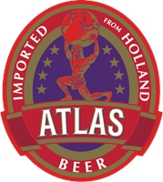 Atlas bier Logo Vector