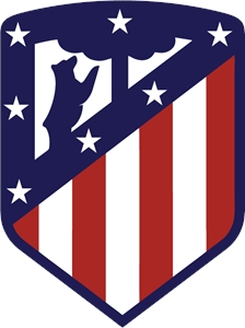 Atlético Madrid (new) Logo Vector